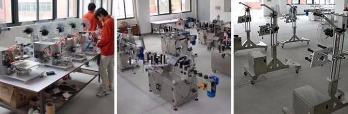 Máquina automática de rotulagem de adesivos de ampola / rotulagem para garrafas de penicilina