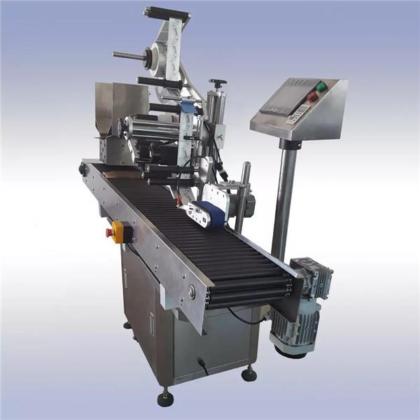 Máquina de rotulagem automática de adesivos adesivos e controle de motor importado