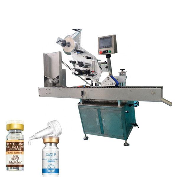 Máquina de rotulagem industrial de frasco de liga de alumínio Opp para garrafa redonda