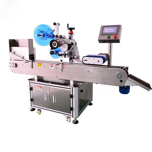 Máquina etiquetadora de garrafas automática de alto padrão para garrafa de líquido eletrônico