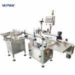 Máquina automática de rotulagem de adesivos de dupla face com mesa giratória