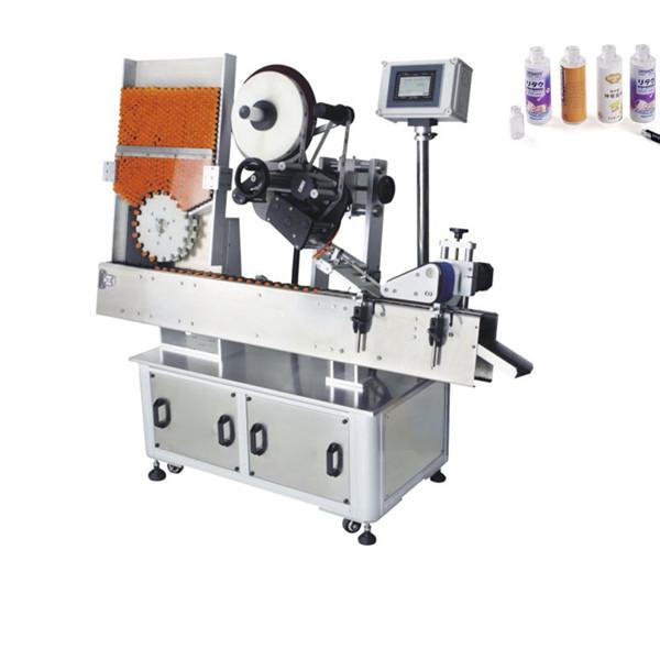 Máquina automática de rotulagem de adesivos para frascos de sacos de fertilizantes 220V 2kw