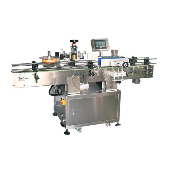 Máquina automática de rotulagem de vinhos servo motor