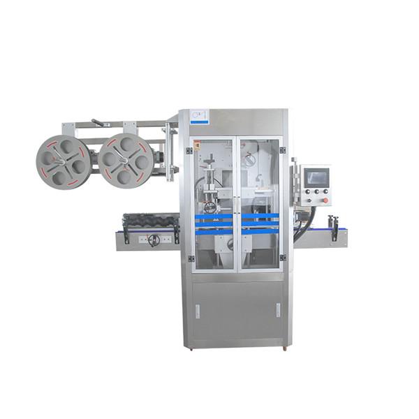 Máquina aplicadora de manga retrátil de aço inoxidável com gerador de vapor