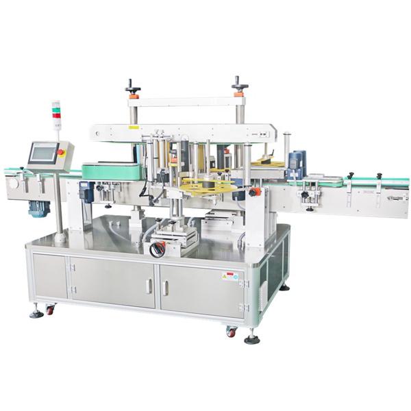 Máquina de etiquetagem de etiqueta dupla face, máquina aplicadora automática de etiqueta