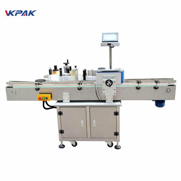 Máquina de rotulagem de etiqueta redonda de garrafa redonda de fácil operação Material de aço inoxidável
