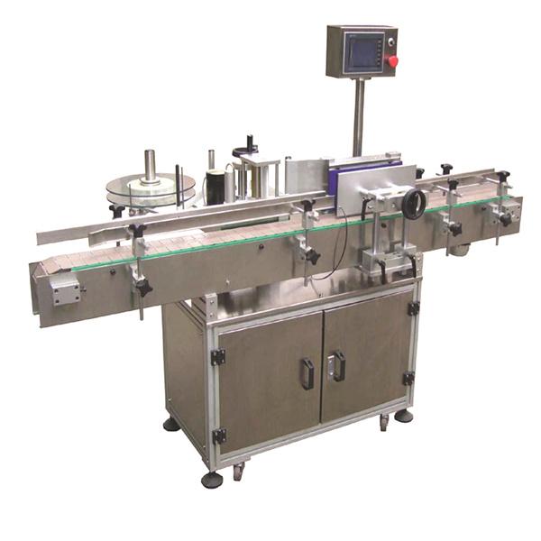 Máquina de etiquetagem automática de etiquetas com raios flexíveis com sacos de papel de dupla face