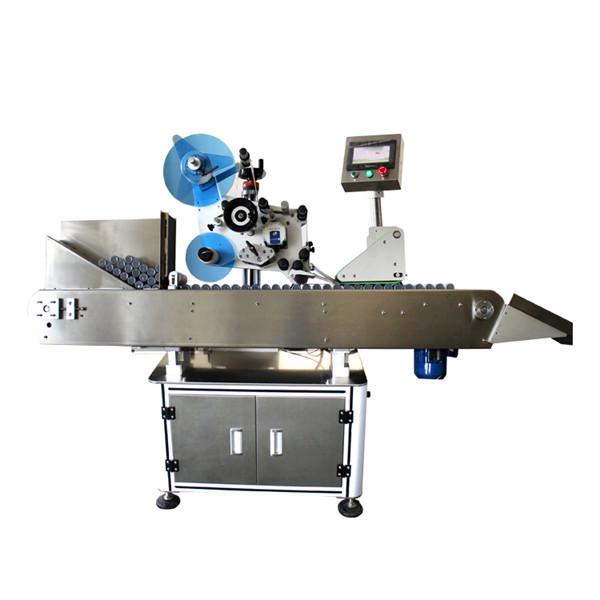 Máquina de rotulagem de etiqueta de frasco industrial de alta velocidade