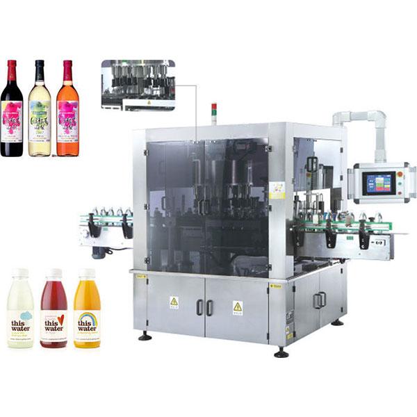 Máquina de rotulagem de adesivos rotativos de alta velocidade com função de rotação
