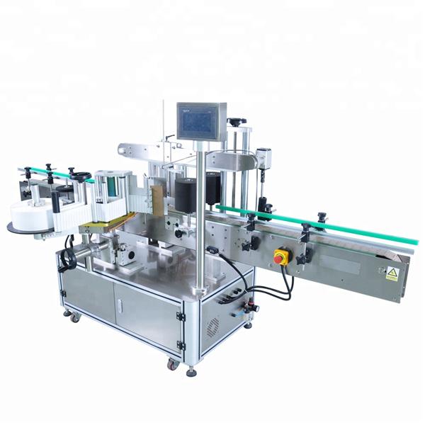 Máquina de rotulagem de adesivos de garrafa redonda de alta velocidade para recipientes irregulares