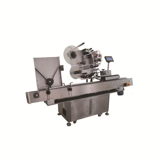 Máquina de rotulagem automática de frasco redondo de alta velocidade Sus304 econômica