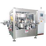 Máquina de rotulagem de adesivos rotativos Onefold para garrafa de cerveja para suco