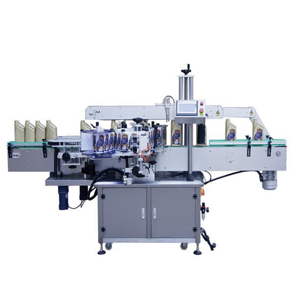 Máquina aplicadora de etiqueta para garrafas