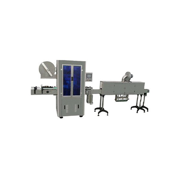 Máquina de rotulagem de manga retrátil para garrafas de água mineral