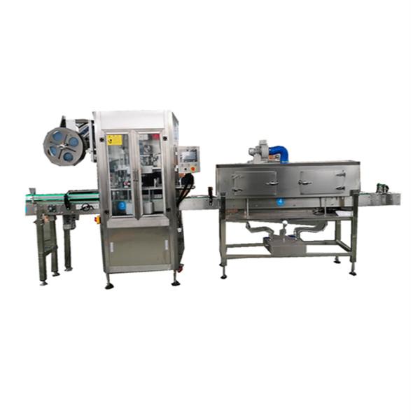 Máquina aplicadora de manga retrátil inoxidável OPS para garrafas