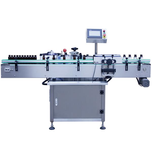 Máquina de etiquetagem automática de controle PLC