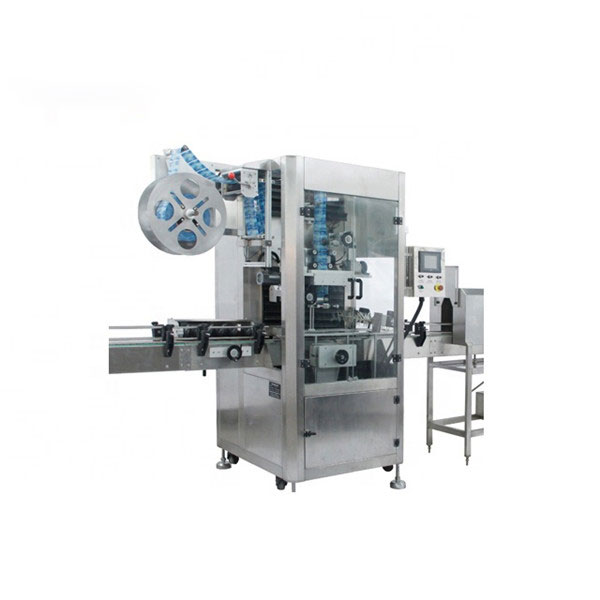 Máquina aplicadora de manga retrátil de PVC Máquina de etiqueta retrátil totalmente automática