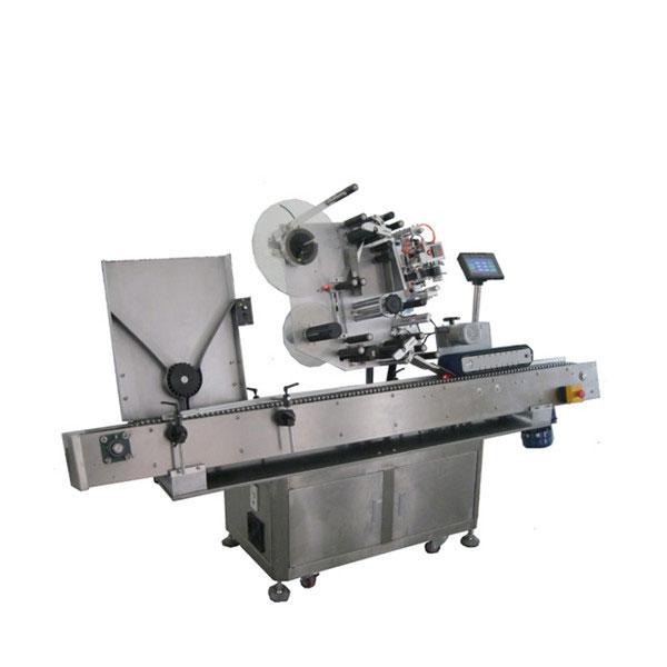 Máquina de rotulagem de adesivos para frascos da indústria farmacêutica