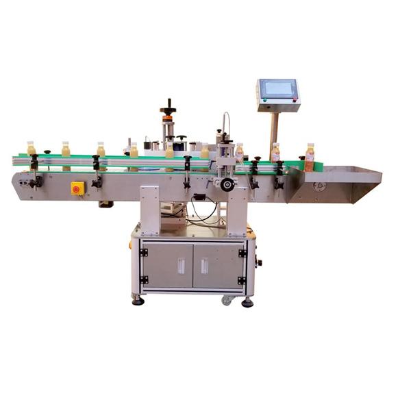 Máquina de rotulagem profissional de adesivos para garrafas