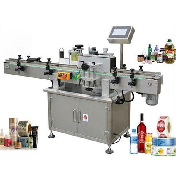 Máquina de rotulagem de garrafas redondas, aplicador de rótulos em volta