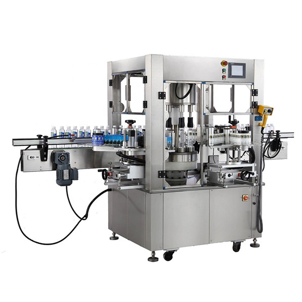 Máquina de rotulagem de etiqueta rotativa de garrafa redonda Espessura do equipamento