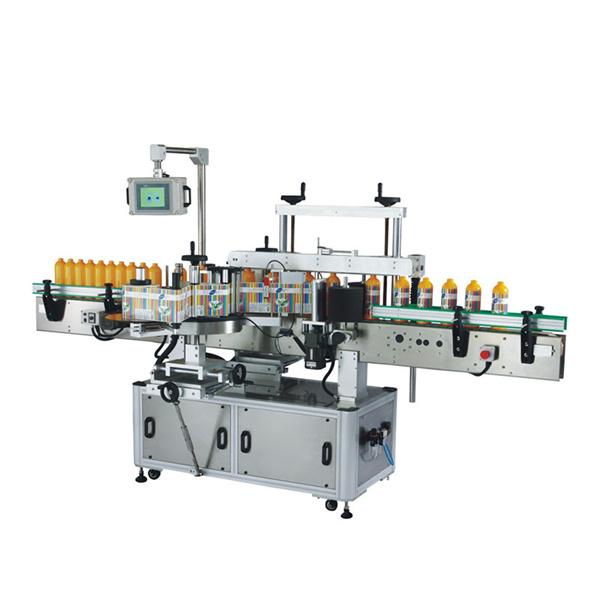 Máquina de etiquetagem autoadesiva frente e verso