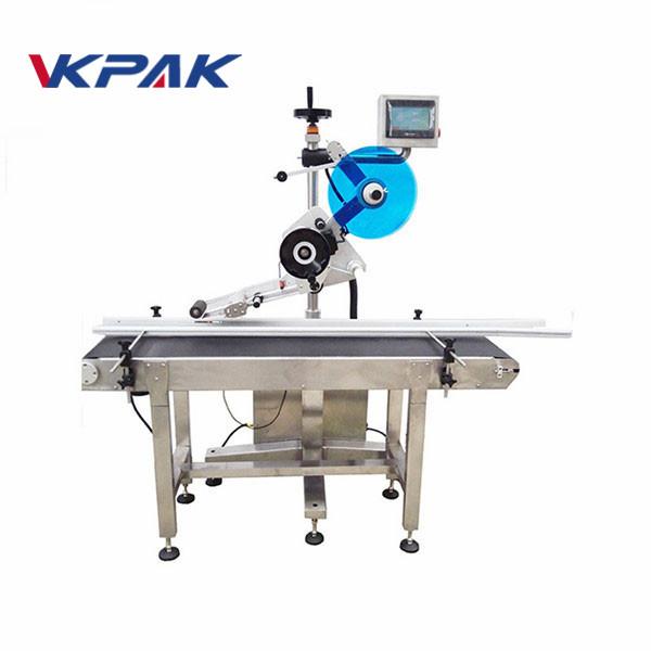 Máquina de rotulagem auto-adesiva servo motor folha de plano de máquina aplicadora de etiqueta