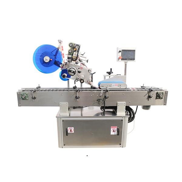 Máquina de rotulagem superior e dupla face