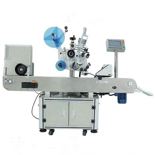 Máquina de rotulagem industrial de frascos para frascos de líquidos orais
