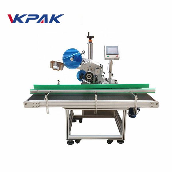 Máquina automática de rotulagem de adesivos autoadesivos de resistência ao desgaste