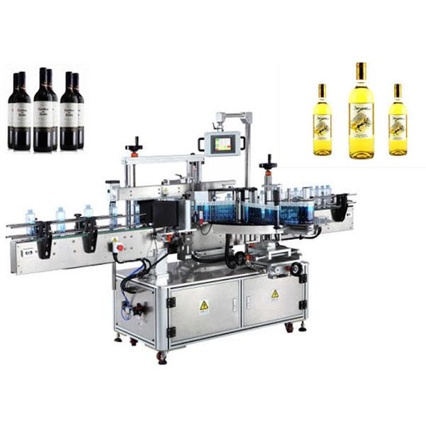 Máquina aplicadora de rótulos para garrafas de vinho, rotuladora de garrafas de cerveja