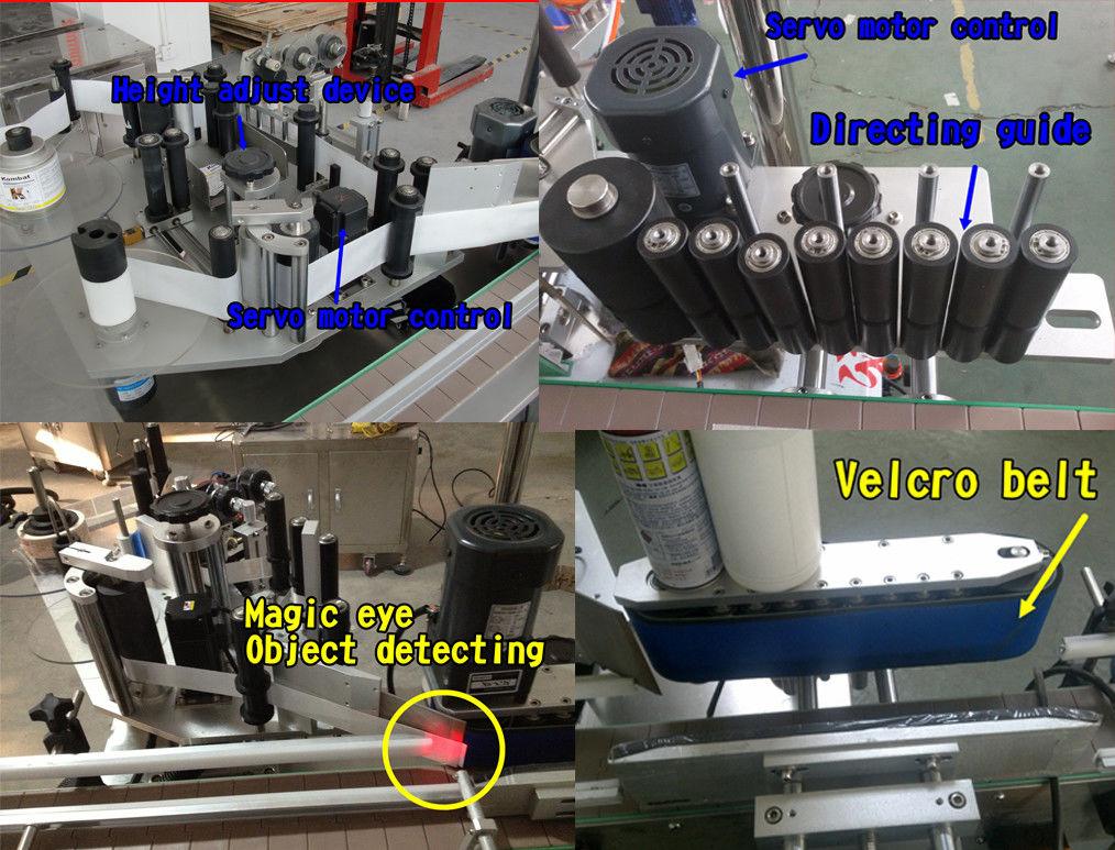 Etiqueta de frasco de cosmético para rotulagem de garrafa redonda / máquina de rotulagem autoadesiva