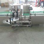 Máquina de etiqueta automática de controle inteligente Siemens PLC com superfície de coleta