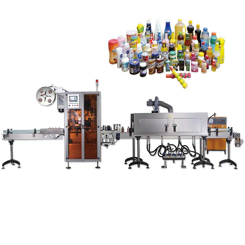 Máquinas de rotulagem e selagem geral de tampas de garrafa com longa vida útil