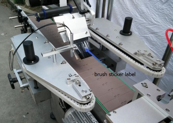 Máquina automática de rotulagem de adesivo de garrafa redonda para motor de raio de garrafa de cerveja