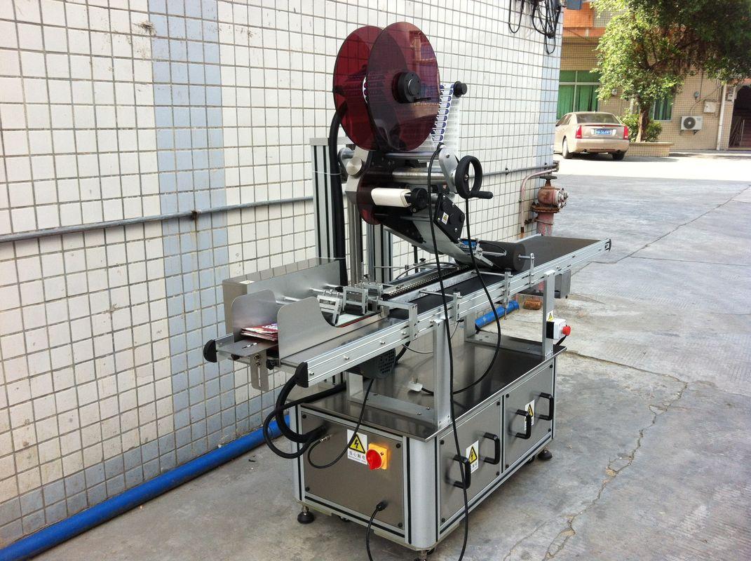 Máquina de rotulagem elétrica de topo, máquina de rotulagem de adesivos autoadesivos