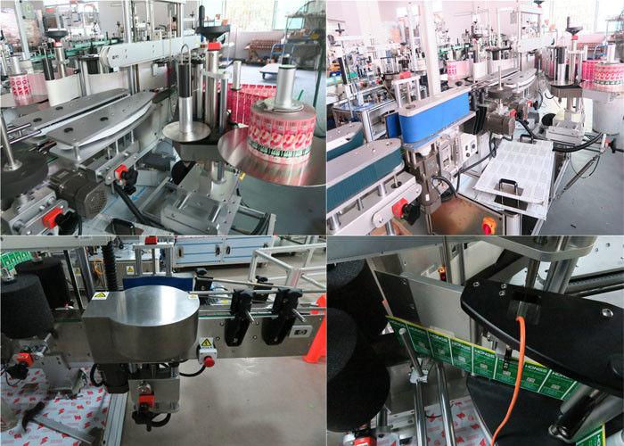 Máquina de rotulagem diária de frascos e versos, rotuladora de frascos