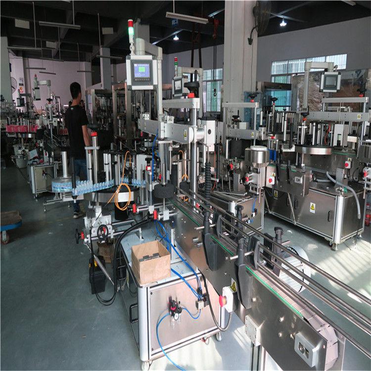 Máquina de rotulagem de garrafas de plástico, máquina de rotulagem de garrafas de água mineral potável