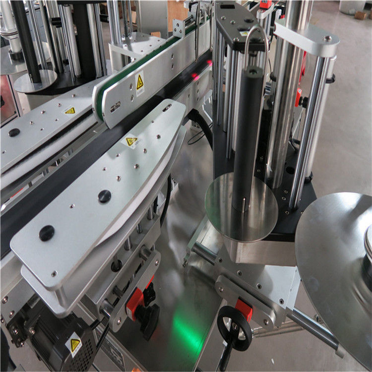 Máquina de etiquetagem automática de adesivos CE, máquina etiquetadora de garrafas frontal e traseira