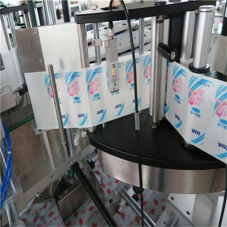 Máquina automática de rotulagem de adesivos de garrafa redonda hexágono de lado único / duplo