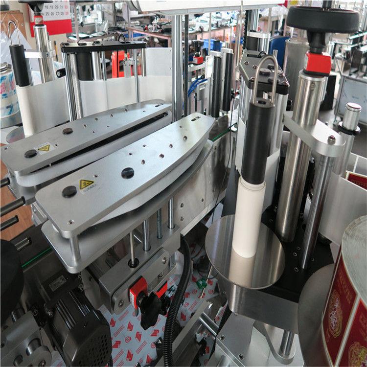 Máquina de etiquetagem de adesivos autoadesiva totalmente automática frente e verso