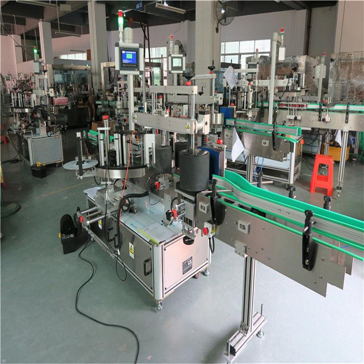 Máquina de rotulagem de garrafas para animais de estimação, máquina aplicadora automática de etiquetas