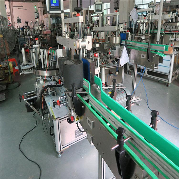 Máquina de rotulagem de garrafa de adesivo autoadesivo de dupla face 190 mm de altura máx.