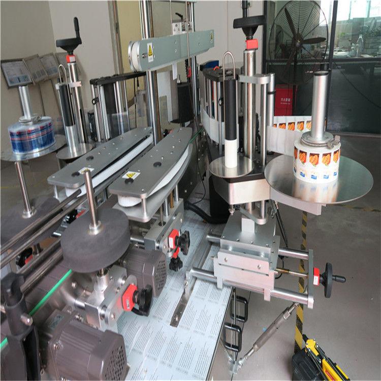 Máquina aplicadora de etiqueta para garrafa redonda de lado único / duplo