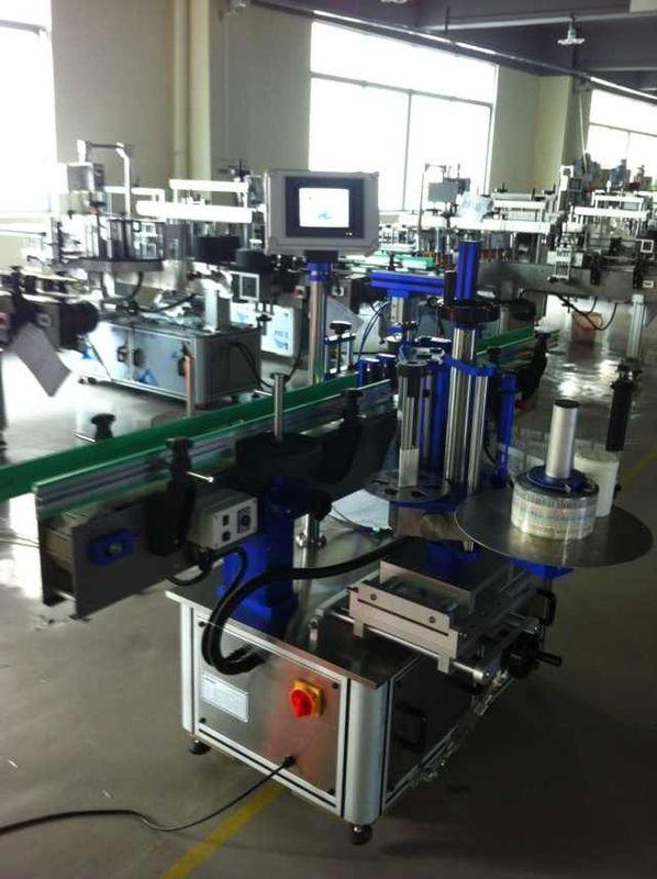 Aplicador de etiquetas de adesivos totalmente automático, máquina de etiquetagem de garrafas