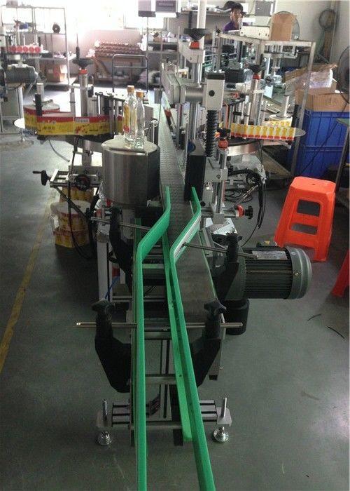 Aplicador de etiqueta de adesivo CE, direção de servomotores de máquina de etiquetagem de garrafas de vinho