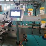Máquina automática de rotulagem de adesivos de dois lados e garrafas redondas para garrafas de cerveja