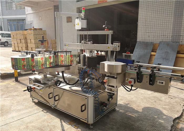 Máquina de rotulagem de garrafa plana 3048 mm x 1700 mm x 1600 mm