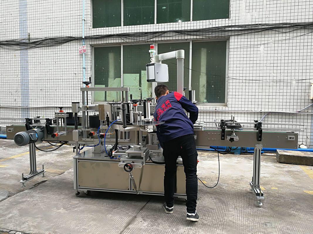 Máquina de rotulagem de garrafas de água totalmente automática para garrafas de vidro / PET