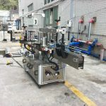 Máquina aplicadora de adesivos adesivos para água mineral cone redondo quadrado